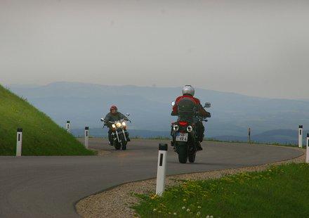 Biker in Niederösterreich