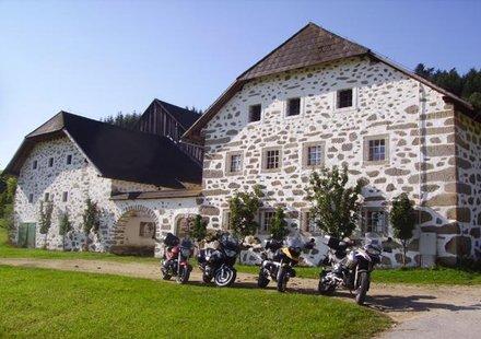 Biker in Oberösterreich
