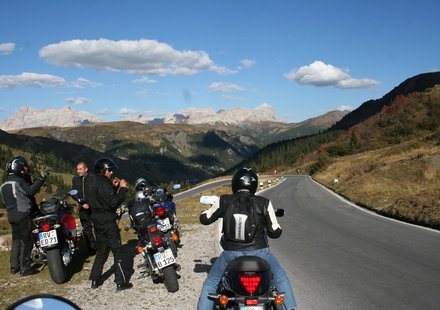 Biker in Südtirol