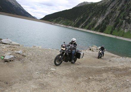 Biker in Tirol
