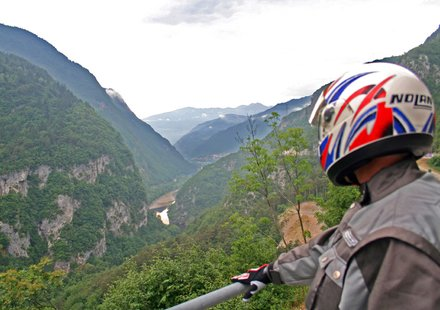 Biker in Trentino