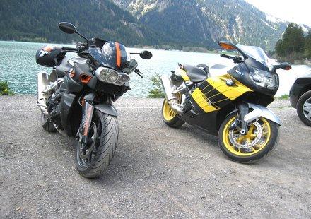 Biker in Vorarlberg