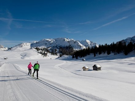 Cross country ski holidays in South Tyrol