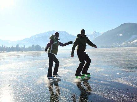 Eislaufen im Salzburger Land