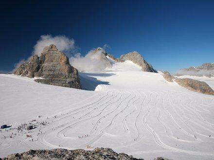High altitude Cross Country Ski track
