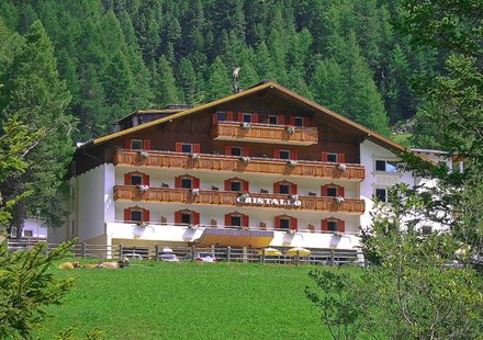 Hotel Cristallo in Sulden am Ortler