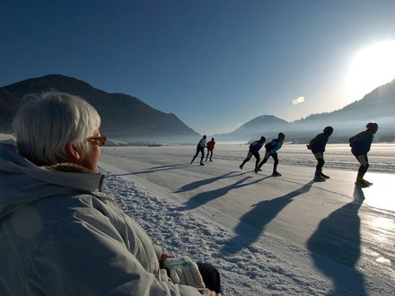 Ice skating in Carinthia