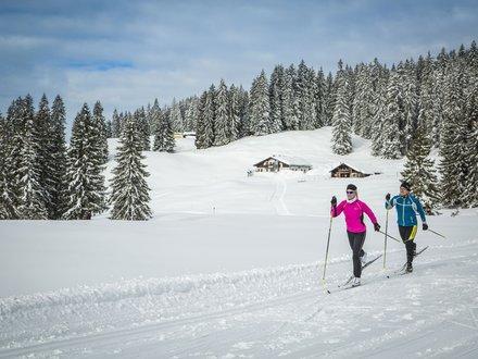 Langläufer im Chiemgau ©Chiemgau Tourismus