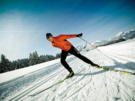 Langlaufen in den Kitzbüheler Alpen