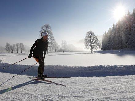 Langlaufloipe in der Steiermark © Herbert Raffalt