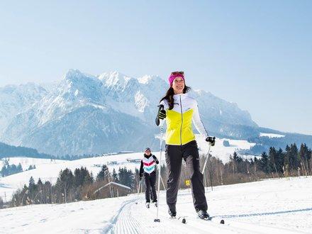 Langlaufloipen in Tirol
