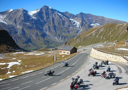 Motorradtouren im Salzburger Land
