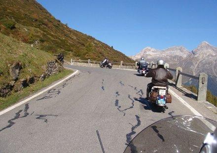 Motorradtouren in Graubünden