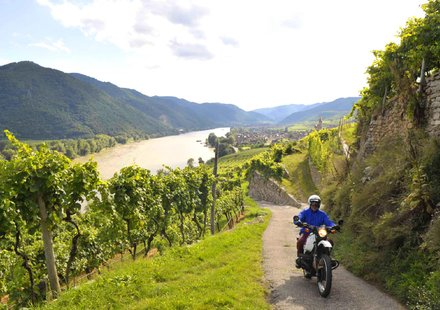 Motorradtouren in Niederösterreich