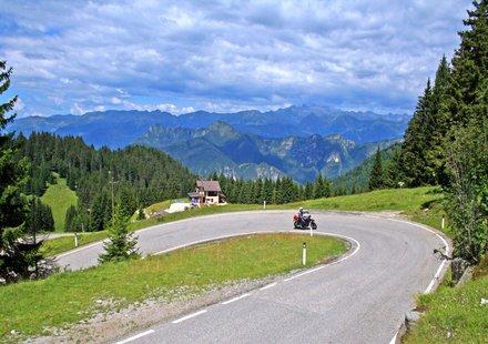 Motorradtouren in Trentino