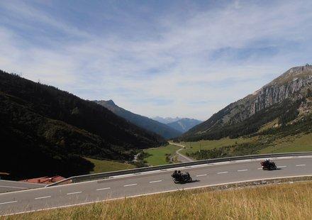 Motorradtouren in Vorarlberg