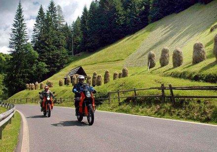 Motorradurlaub in der Steiermark