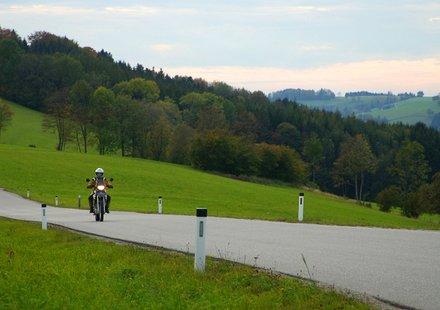 Motorradurlaub in Niederösterreich