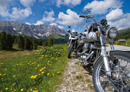 Motorradurlaub in Südtirol