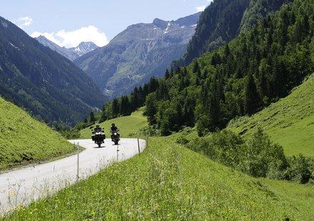 Motorradurlaub in Tirol