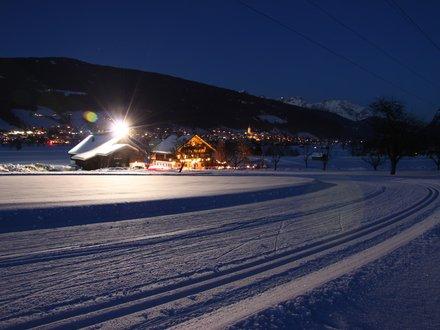 Nachtloipe im Salzburger Land