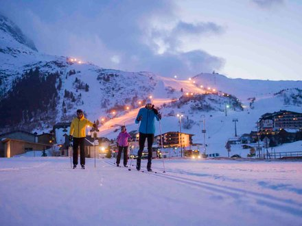 Nachtloipen in Tirol