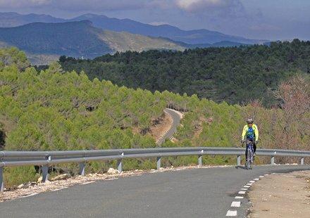 Radsport am Mittelmeer