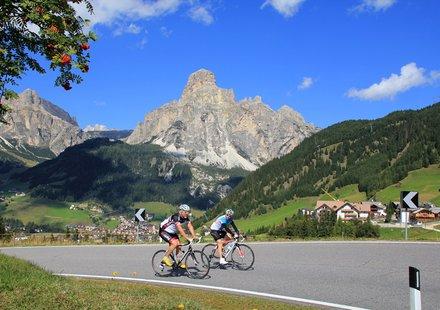 Radsport in Val Gardena - Gröden