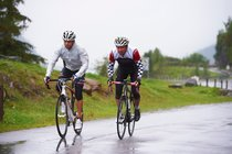 Rain in your roadbike holidays - what to do