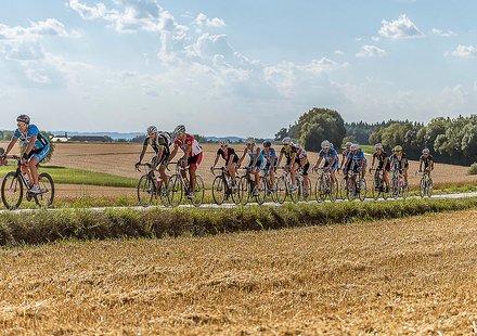 Rennrad Tour im Sommer