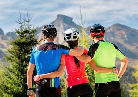 Rennrad-Urlaub in den Dolomiten