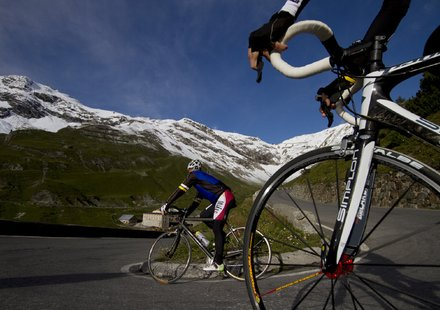 Rennrad Urlaub in Nauders © Tirol Werbung