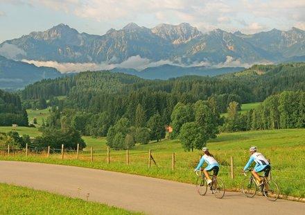Rennradfahren im Allgäu