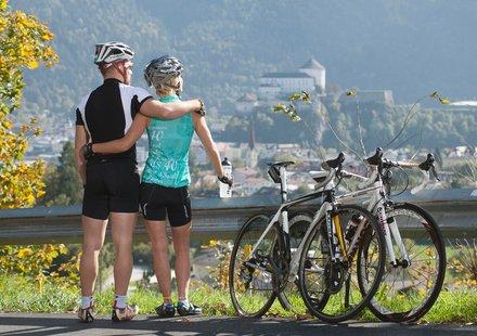 Rennradfahren im Ferienland Kufstein