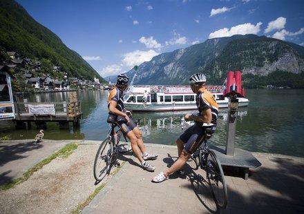 Rennradfahren im Salzkammergut