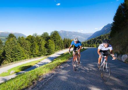 Rennradfahren im Salzkammergut © Erber
