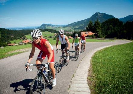 Rennradfahren in Bayern