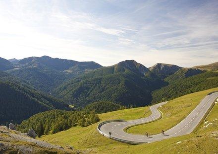 Rennradfahren in den Nockbergen