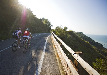 Rennradfahren in Marken