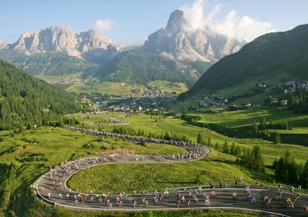 Rennradfahren in Südtirol
