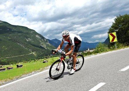 Rennradfahren in Tirol © Felgenhauer