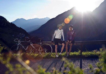 Rennradfahren in Tirol - Österreich