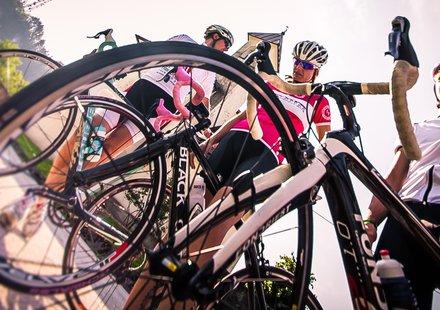 Rennradfahren in Valsugana