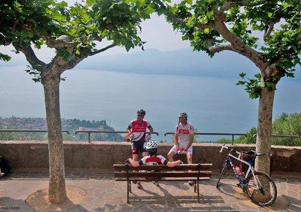 Rennradfahren rund um den Gardasee