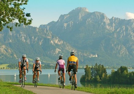 Rennradreisen Allgäu