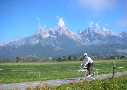 Rennradtour am Tauernradweg