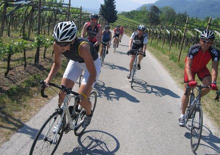Rennradtour in Südtirol