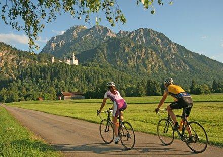 Rennradtouren im Allgäu