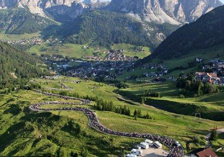 Rennradtouren in Alta Badia - Passo Gardena