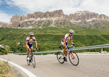 Rennradtouren rund um Arabba